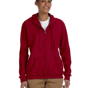 Ladies' Heavy Blend™  8 oz., 50/50 Full-Zip Hood Thumbnail